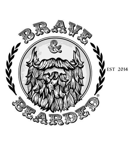 Clipart faded brown ink small mustache template clipart freeuse How to Grow a Full Beard: The Ultimate Beard Growth Guide – Brave ... clipart freeuse