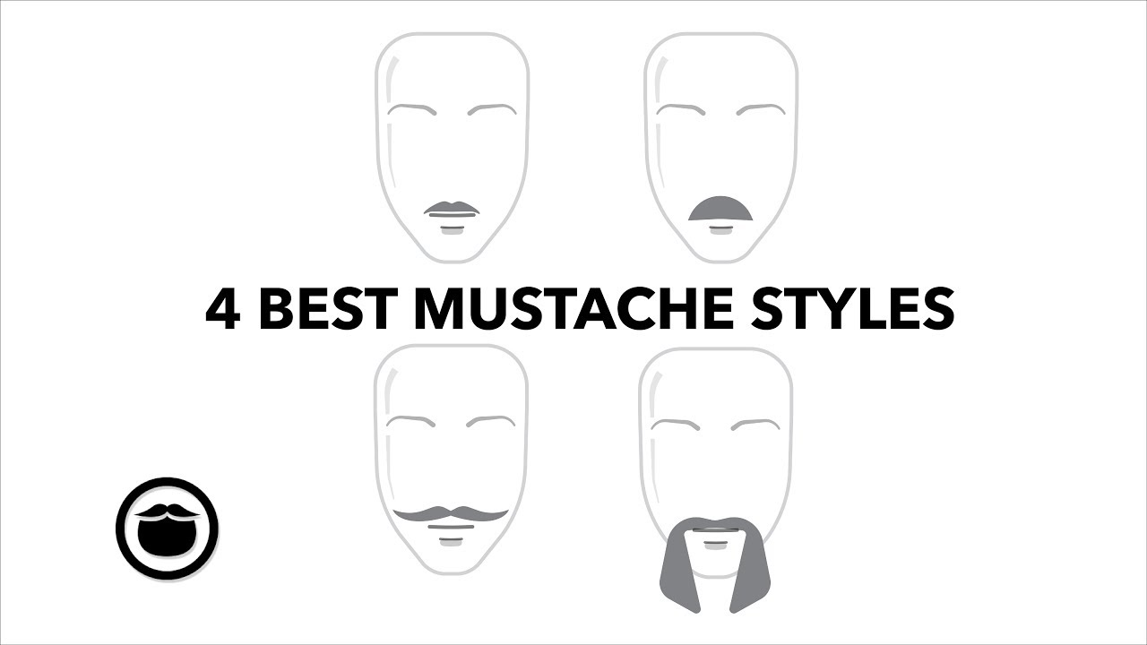 Clipart faded brown ink small mustache template svg freeuse Top 21 Best BEARD STYLES & The Best For You – Beardbrand svg freeuse