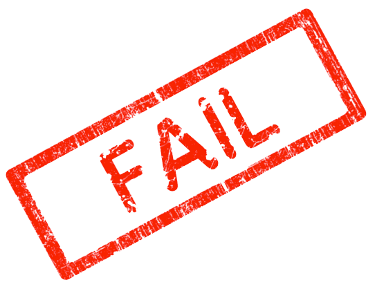Clipart failure png royalty free download Free Pass Fail Cliparts, Download Free Clip Art, Free Clip Art on ... png royalty free download