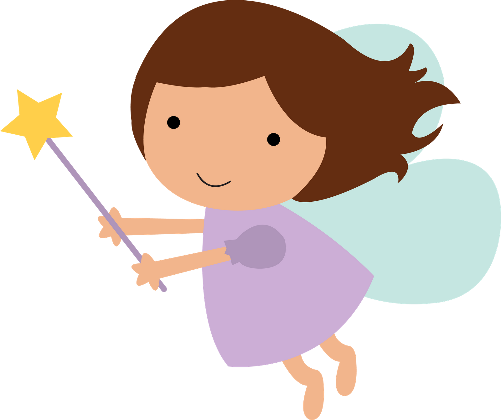 Clipart princess crown and wand graphic freeuse Clipart fairy printables - ClipartFest graphic freeuse