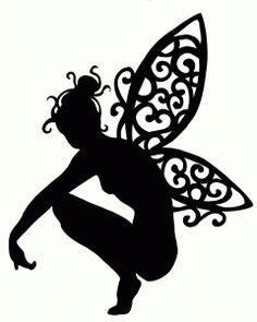 Clipart fairy printables clip freeuse 17 Best ideas about Fairy Silhouette on Pinterest   Fairy jars ... clip freeuse
