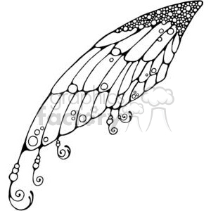 Clipart fairy wings stock Fairy Wing clipart. Royalty-free clipart # 380197 stock