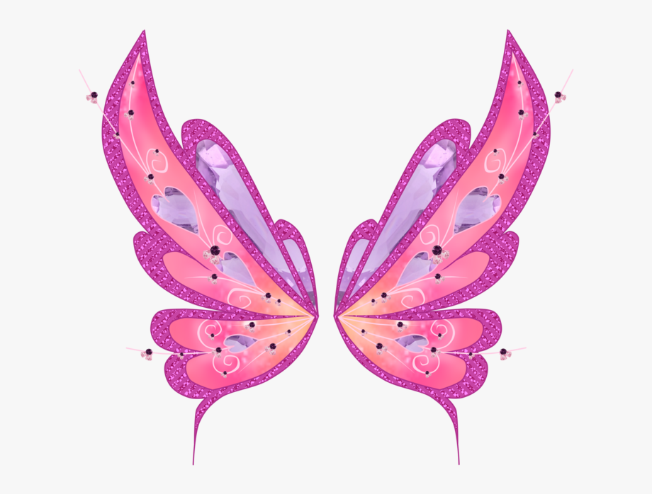 Fairy wings clipart free png freeuse Fairy Wings Png - Pink Butterfly Wings Png #1269573 - Free Cliparts ... png freeuse