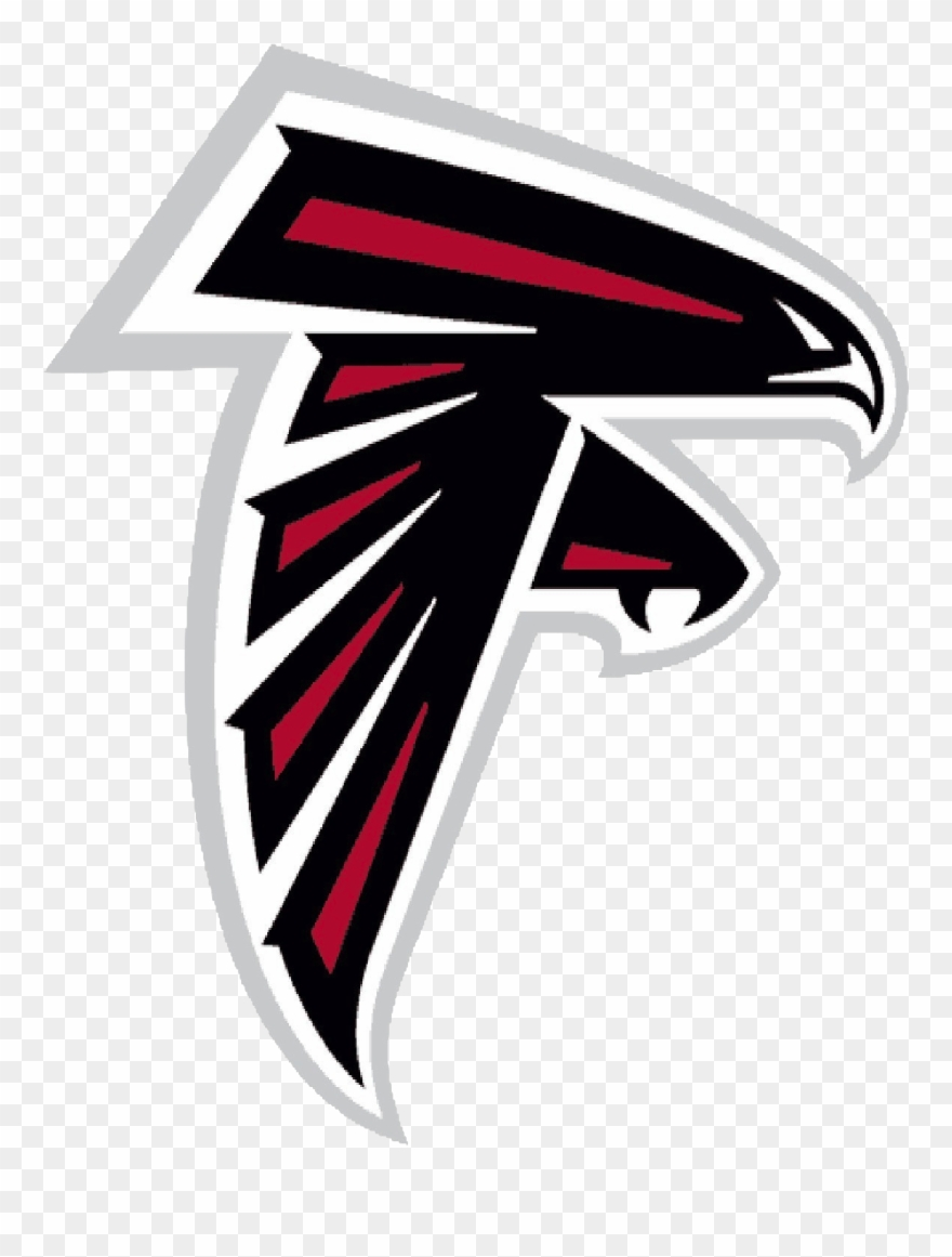 Clipart falcons clipart black and white Atlanta Falcons Logo Clipart (#629350) - PinClipart clipart black and white