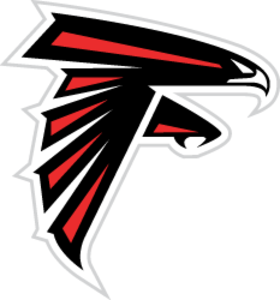 Clipart falcons vector royalty free library Atlanta Falcons Logo | Free Images at Clker.com - vector clip art ... vector royalty free library