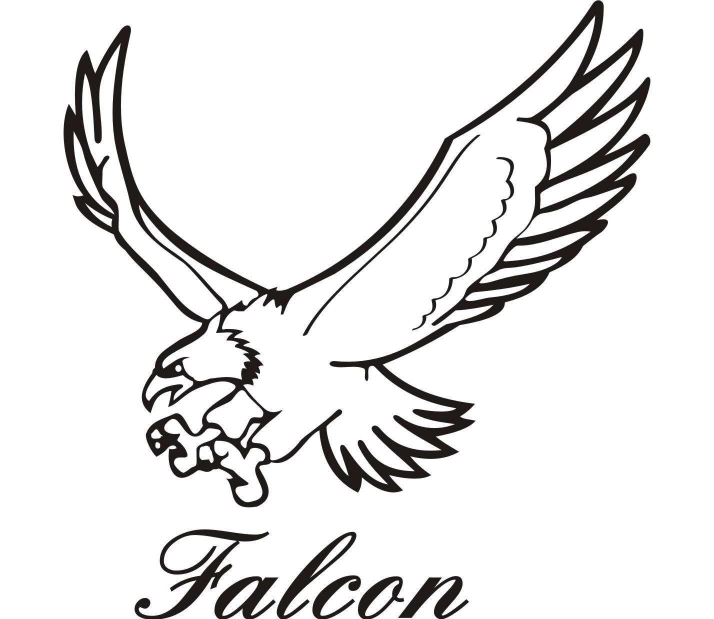 Clipart falcons jpg transparent Best Falcon Clip Art #15454 - Clipartion.com jpg transparent