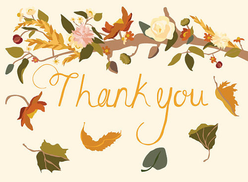 Clipart fall thank you image free stock Fall Thank You Clipart image free stock