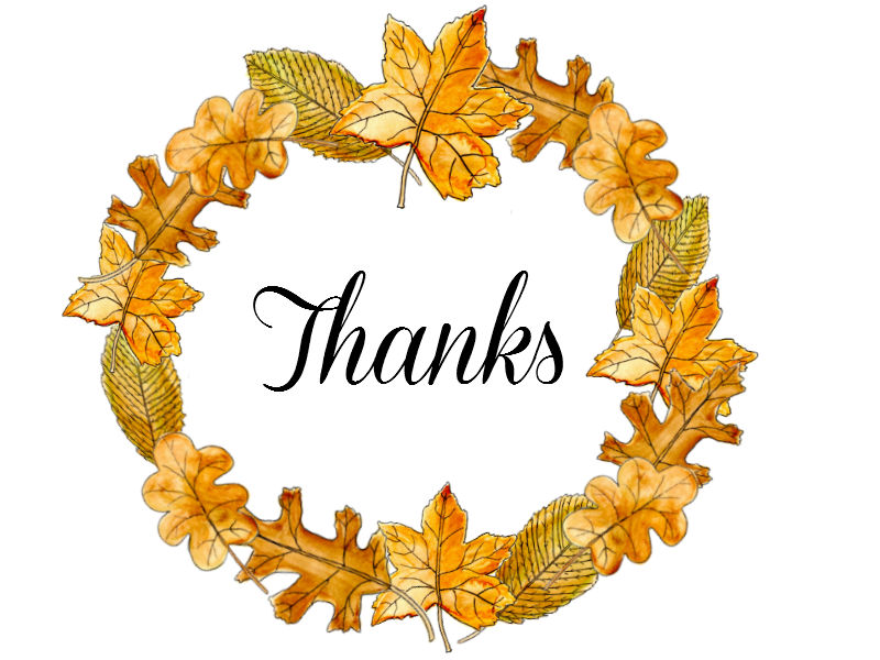 Clipart fall thank you picture library library Fall Thank You Clipart picture library library
