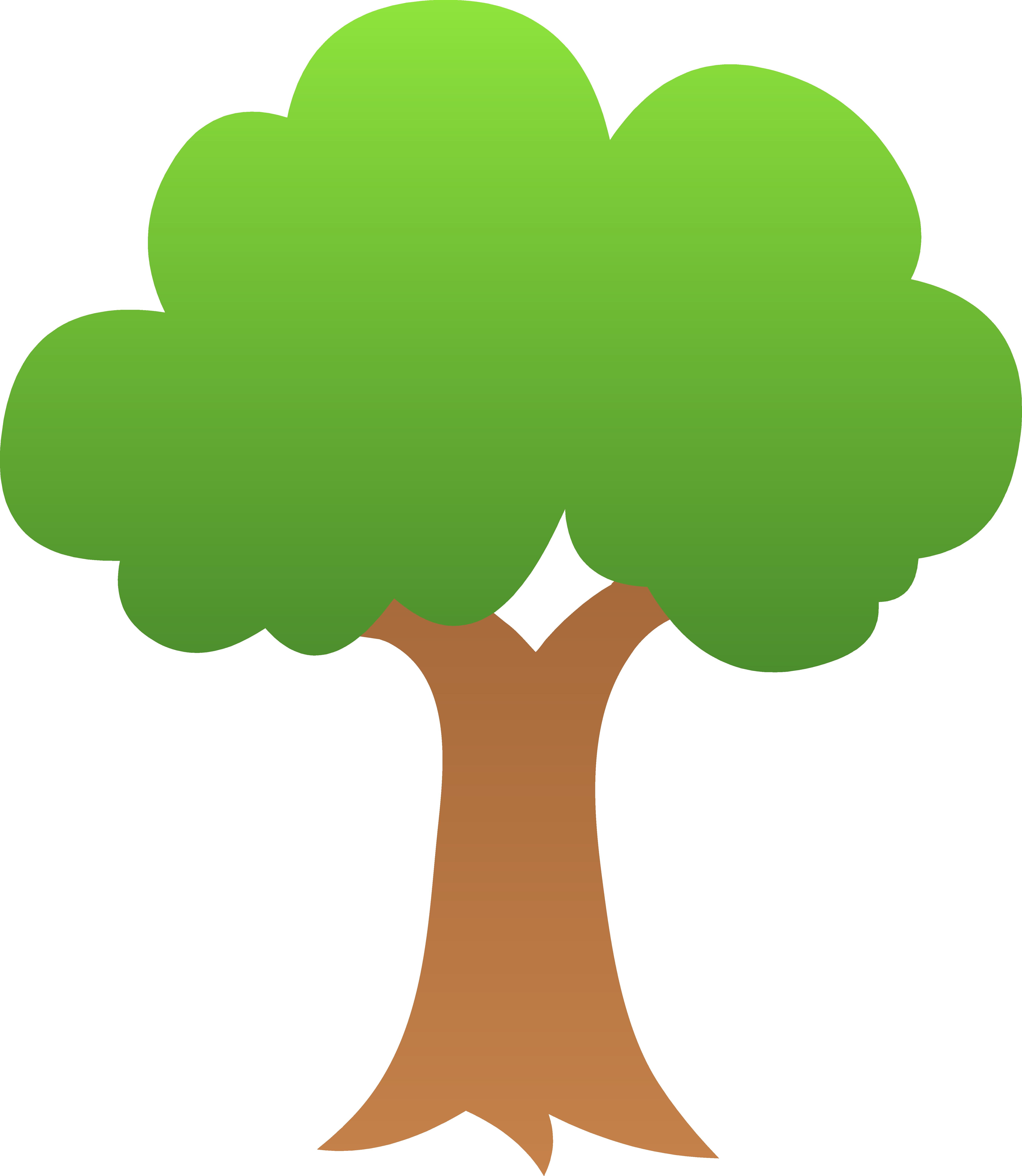 Clipart fall tree clip library stock tree-clipart-tree_tiny_green_shaded.png (5486×6309) | music ed ... clip library stock