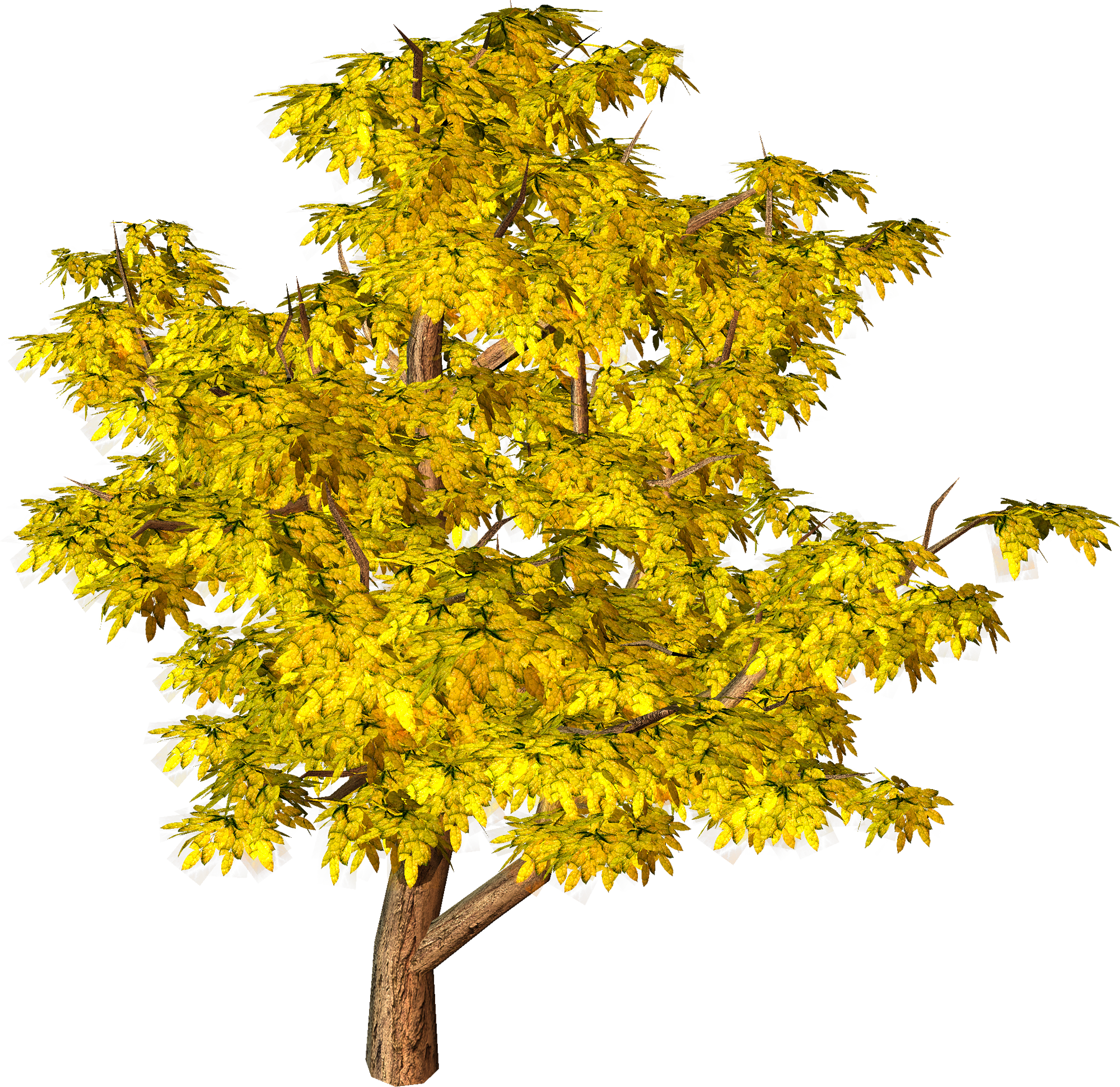 Fall tree clipart free graphic freeuse stock Yellow Fall Tree PNG Clipart | Gallery Yopriceville - High-Quality ... graphic freeuse stock