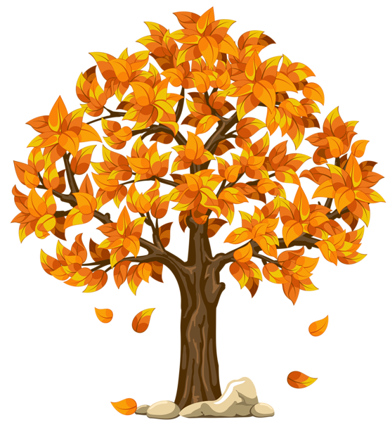 Clipart fall tree picture free library 28+ Collection of Fall Clipart Transparent | High quality, free ... picture free library
