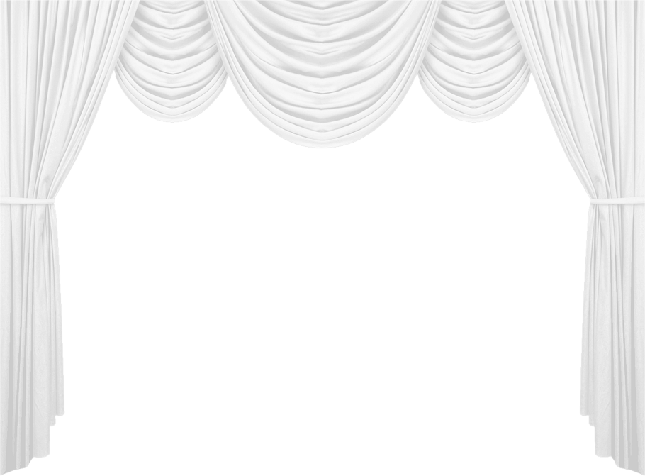 Clipart falling curtain black and white graphic transparent stock White Curtain PNG Clipart Picture | Gallery Yopriceville - High ... graphic transparent stock