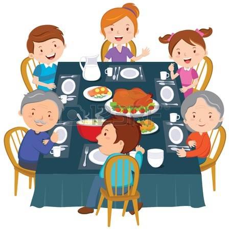 Clipart family dinner jpg library 87+ Family Dinner Clipart | ClipartLook jpg library