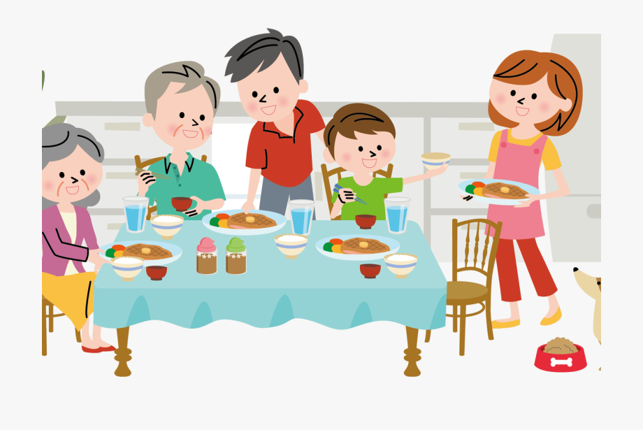Clipart family dinner download Diner Clipart Family Communication Graphics - Family Dinner Png ... download