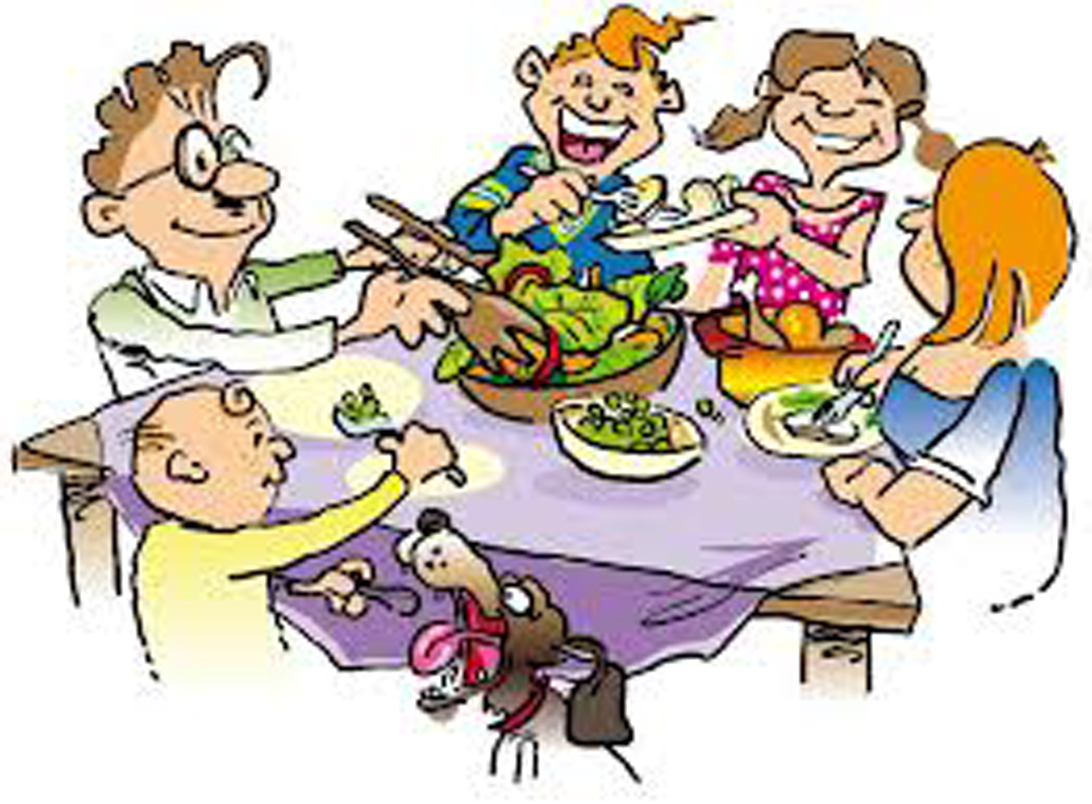Family traditions clipart