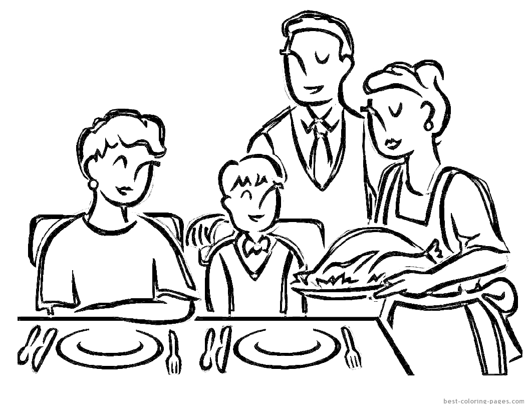 Clipart family dinner cooking black and white clip download Free Cooked Turkey Drawing, Download Free Clip Art, Free Clip Art on ... clip download