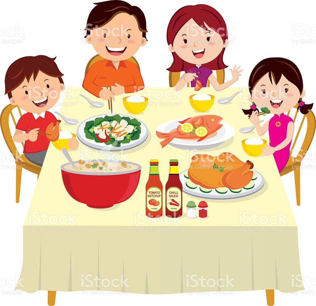 Clipart family eating dinner clip art transparent library Family eating dinner clipart 9 » Clipart Station clip art transparent library