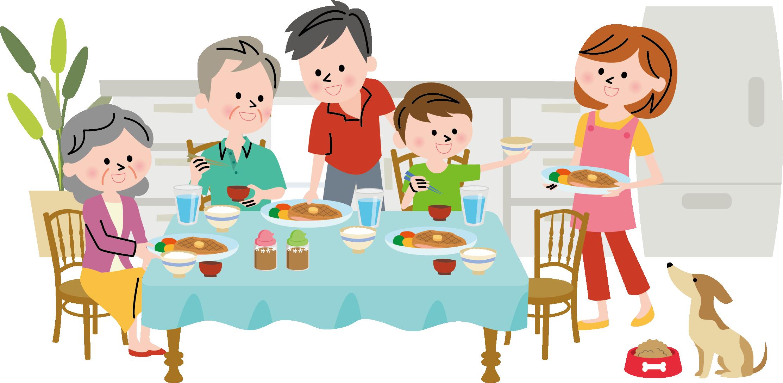 Clipart family eating dinner jpg stock Clipart family dinner clipart images gallery for free download ... jpg stock