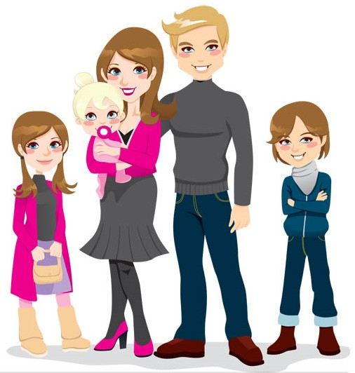 Clipart family of 6 svg free library Family clipart free clipart image 6 - Cliparting.com svg free library