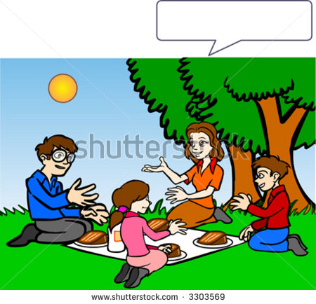 Family picnic clipart jpg freeuse Family Picnic Clipart Group with 55+ items jpg freeuse