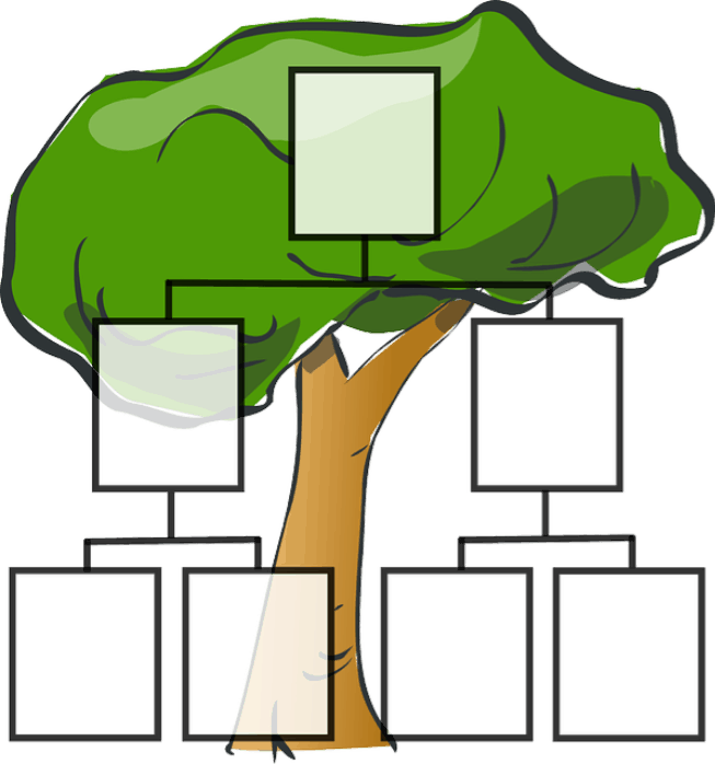 Clipart family tree maker black and white download Fictional Family Trees and Real Genealogy Software Programs ... black and white download