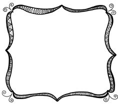 Clipart fancy borders transparent library Fancy Border Frame Clipart | Clipart Panda - Free Clipart Images transparent library