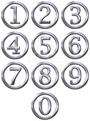 Clipart fancy numbers svg transparent Fancy Numbers Clipart - Clipart Kid svg transparent