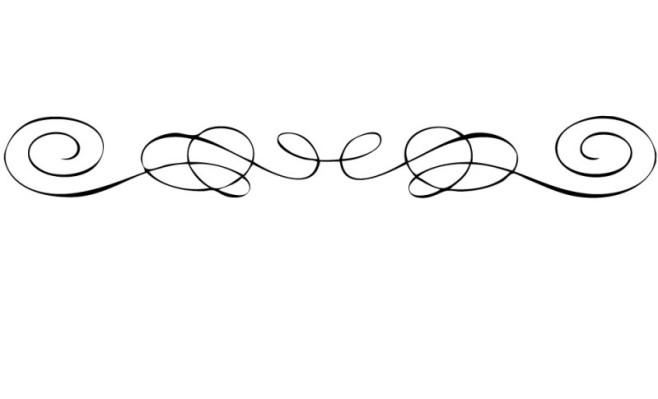 Clipart fancy underline svg freeuse Fancy Line Clip Art & Fancy Line Clip Art Clip Art Images ... svg freeuse