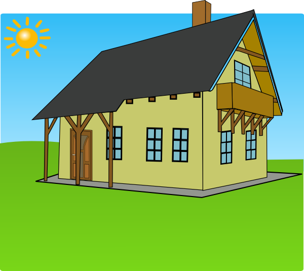 Clipart farm house png freeuse Background Clip Art at Clker.com - vector clip art online, royalty ... png freeuse