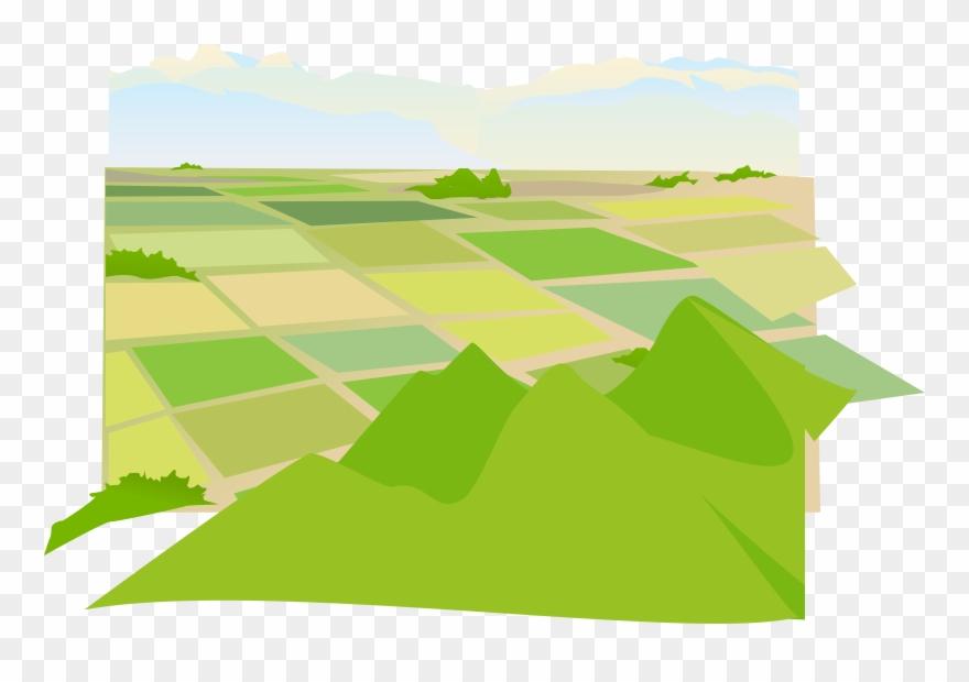 Clipart farmland vector freeuse Svg Library Agriculture Clipart Farmland - Vector Graphics - Png ... vector freeuse