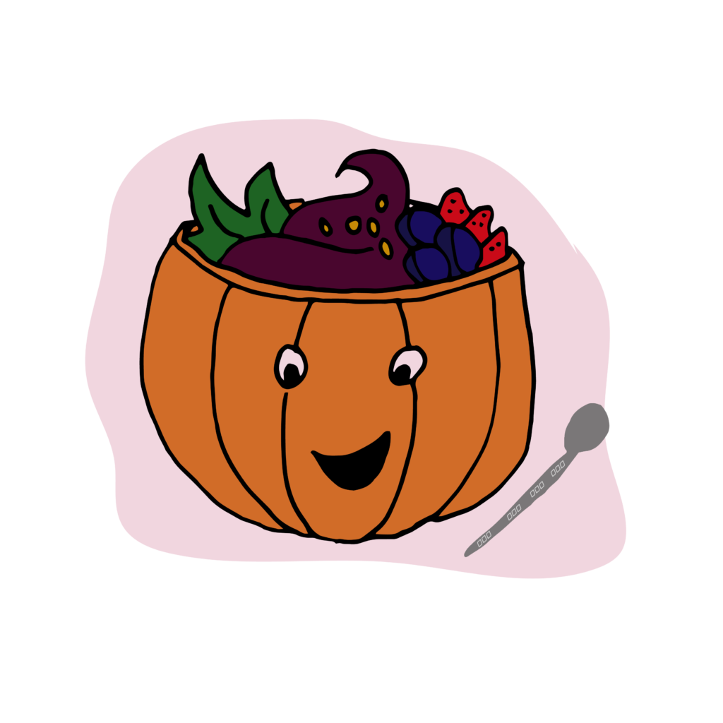 Sugar pumpkin clipart jpg black and white Halloween Scary Facts - Move Nourish Believe jpg black and white