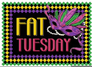 Clipart fat tuesday image free library Happy Fat Tuesday Clipart | Free Images at Clker.com - vector clip ... image free library