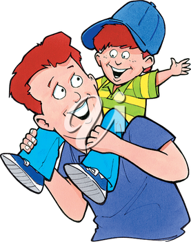 Happy fathers day to son free clipart jpg transparent library Father and son | Fathers Day Clipart in 2019 | Free clipart images ... jpg transparent library