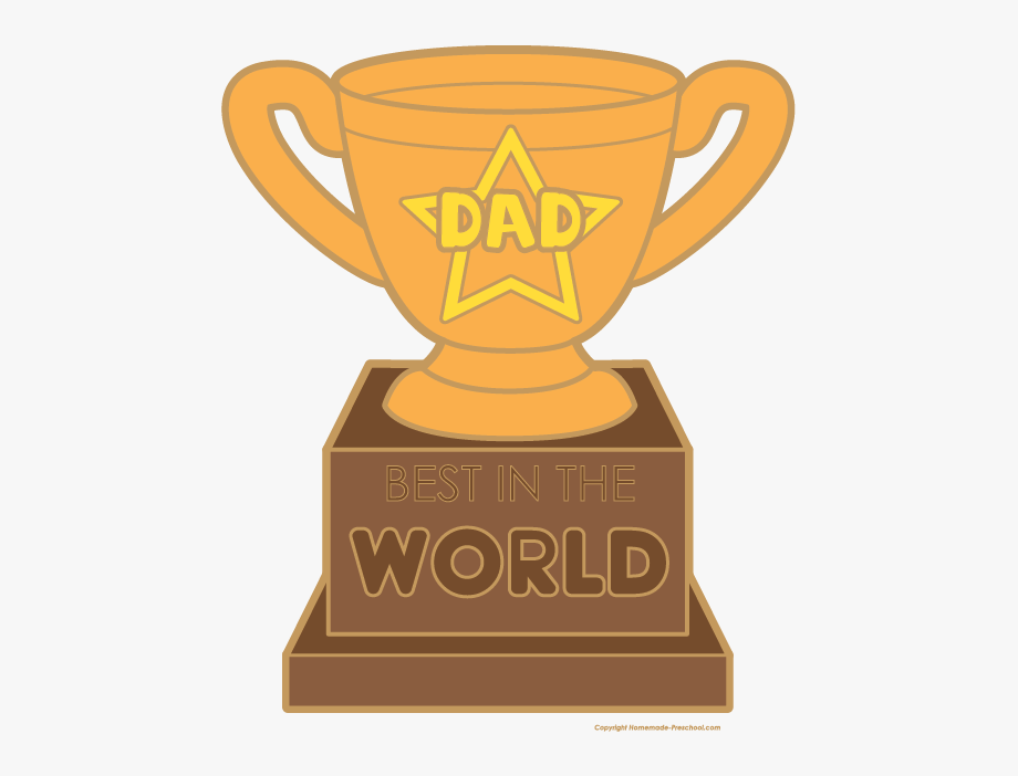 Clipart fathers day jpg transparent download Click To Save Image - Father\'s Day Trophy Clipart #266685 - Free ... jpg transparent download