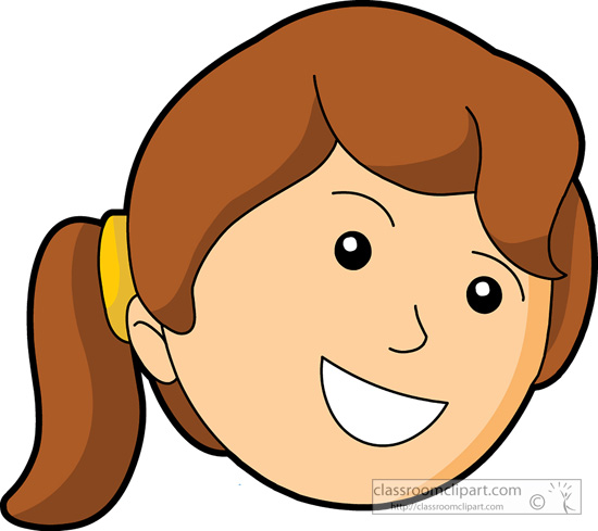Happy girl face clipart clipart transparent library Happy face girl clipart smiley face pencil and in color girl ... clipart transparent library