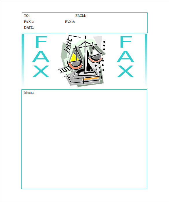 Clipart fax cover sheet vector free library 10+ Generic Fax Cover Sheet Templates – Free Sample, Example ... vector free library