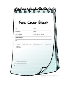 Clipart fax cover sheet image free Clipart fax cover sheet - ClipartFest image free