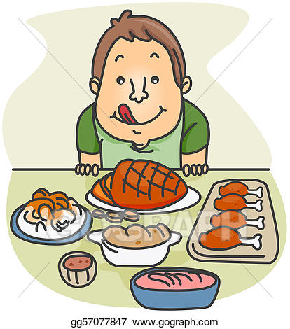 Feasts clipart banner free Clip Art - Food feast. Stock Illustration gg57077847 - GoGraph banner free