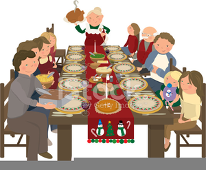 Feasts clipart image transparent library Holiday Feast Clipart | Free Images at Clker.com - vector clip art ... image transparent library