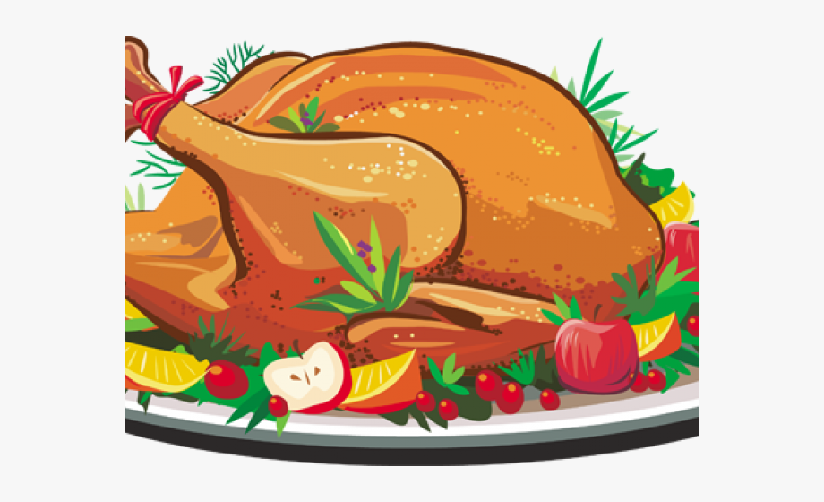 Turkey supper free clipart svg royalty free Feast Clipart Meal - Thanksgiving Turkey Dinner Clipart #229687 ... svg royalty free