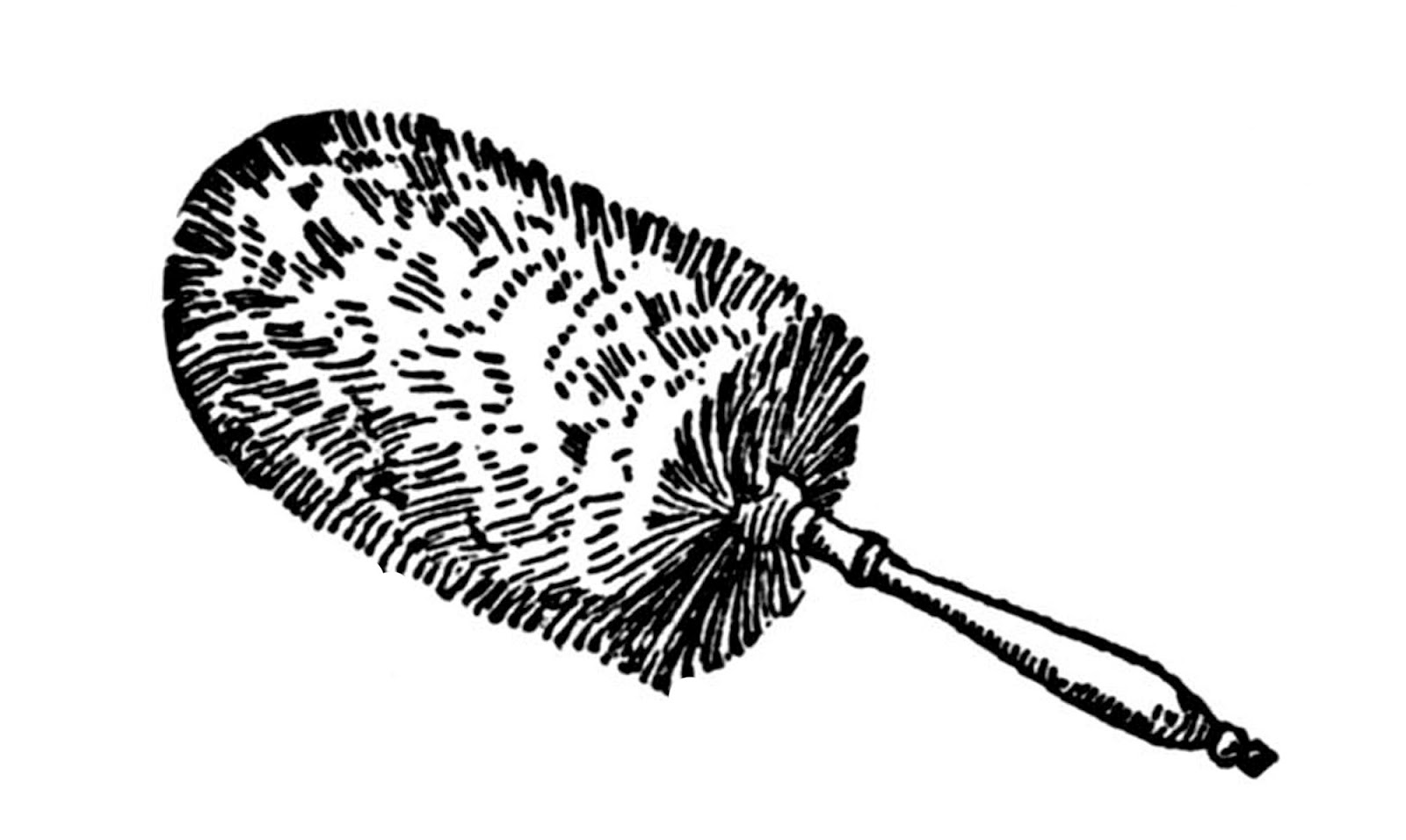 Clipart feather duster svg download Vintage Clip Art - Feather Dusters - Scroll Down to See! - The ... svg download