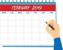 Clipart february calendar jpg freeuse download Search Results for february - Clip Art - Pictures - Graphics ... jpg freeuse download