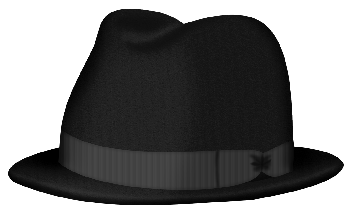 Clipart fedora hat banner free Black Fedora Hat PNG Clipart Picture   Gallery Yopriceville - High ... banner free