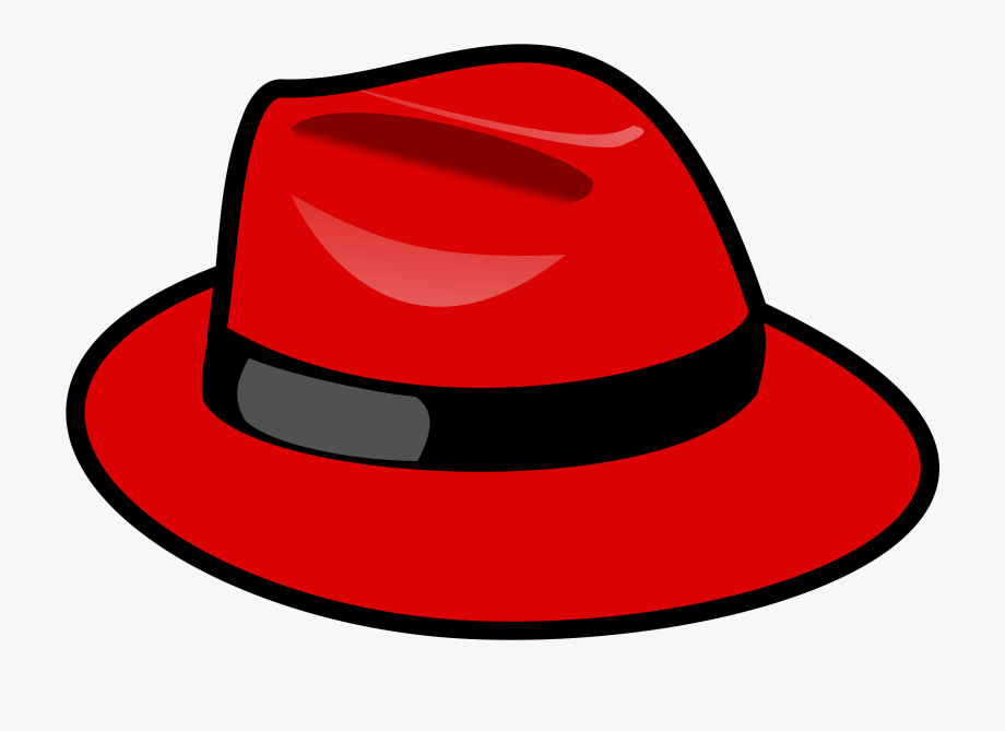 Clipart fedora hat svg download Red Fedora Hat Vector Clipart Image - Red Hat #281686 - Free ... svg download