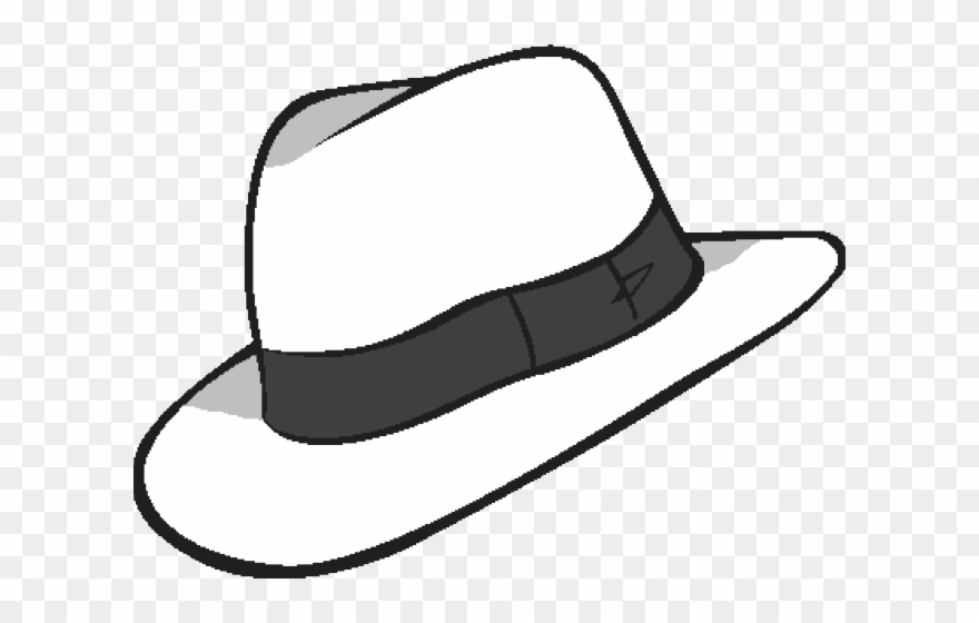 Clipart fedora hat vector royalty free stock Whit Clipart Fedora - White Fedora Transparent Background - Png ... vector royalty free stock