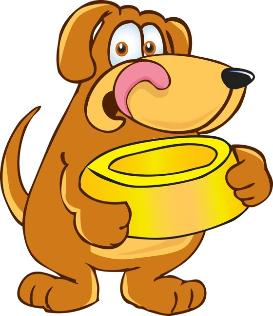 Kid dyer farms feeding. Clipart feed the dog