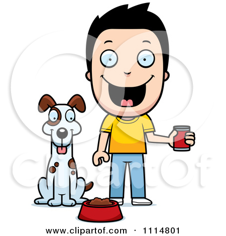 Clipart feeding the dog banner library stock Feed Dog Clipart - Clipart Kid banner library stock