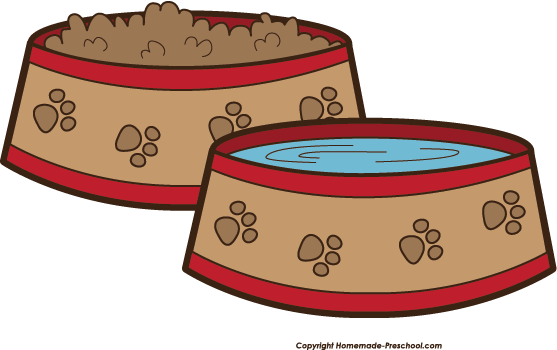 Clipart feeding the dog png stock Dog feeding from a bowl clipart - ClipartFest png stock