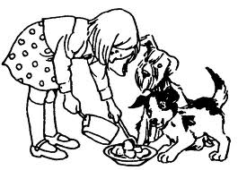 Clipart feeding the dog image freeuse download Dog cat feeding clipart - ClipartFest image freeuse download