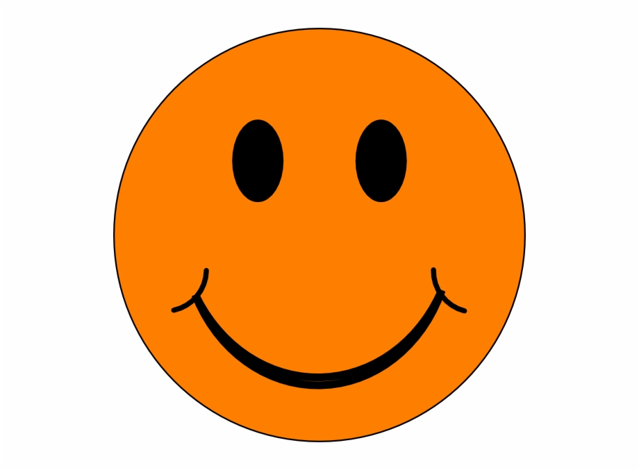 Clipart feelings banner freeuse library Feelings - Orange Happy Face Clipart Free PNG Images & Clipart ... banner freeuse library